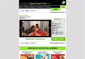 Mobile Hairy Twatter