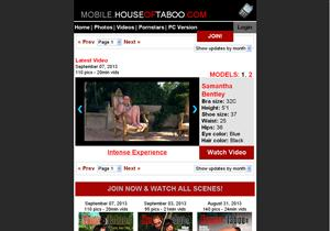 Mobile House of Taboo