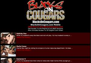 Blacks On Cougars Mobile